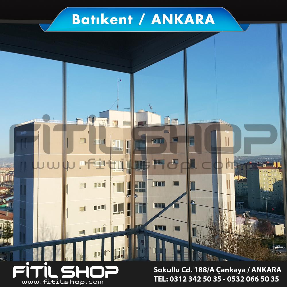 Batıkent Ankara cam balkon fitili