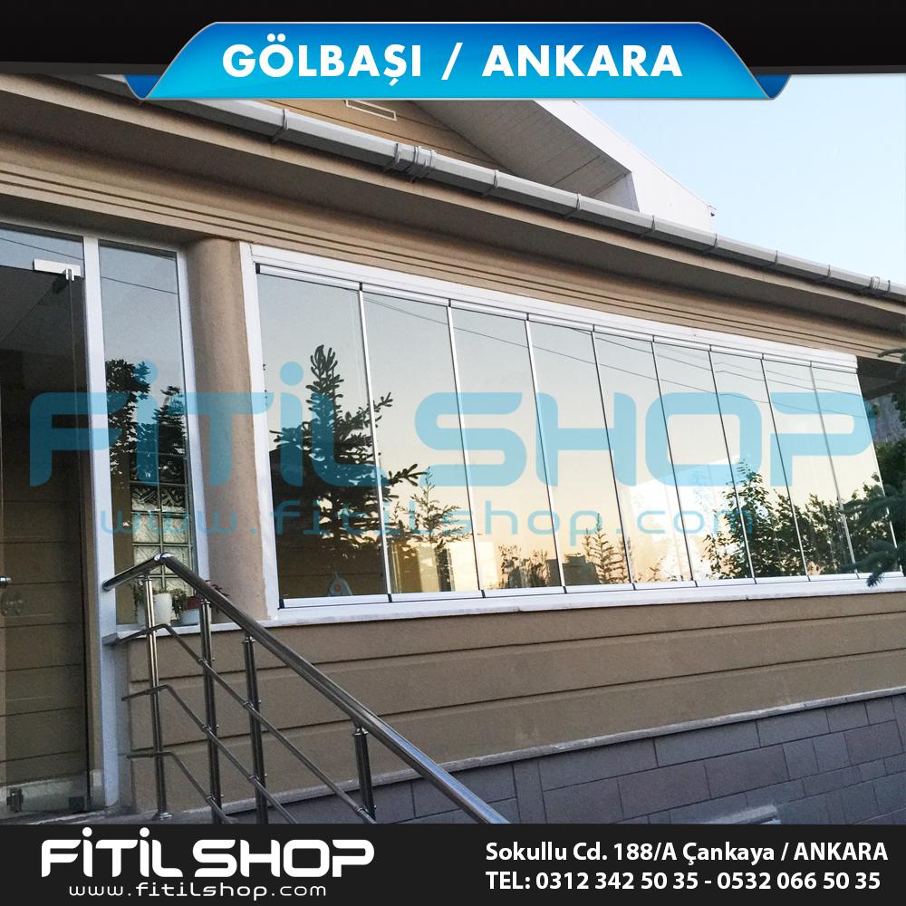 Gölbaşı Ankara cam balkon sistemleri