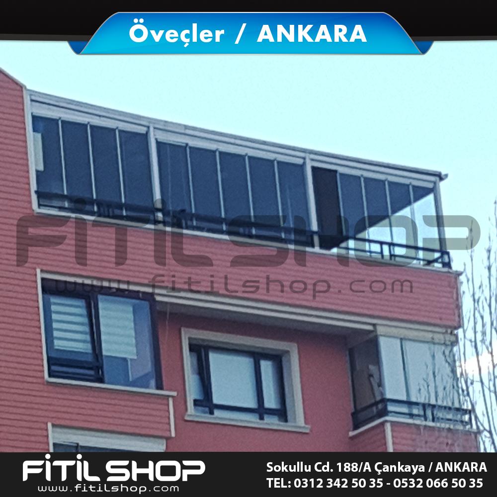 Öveçler Ankara cam balkon sistemleri