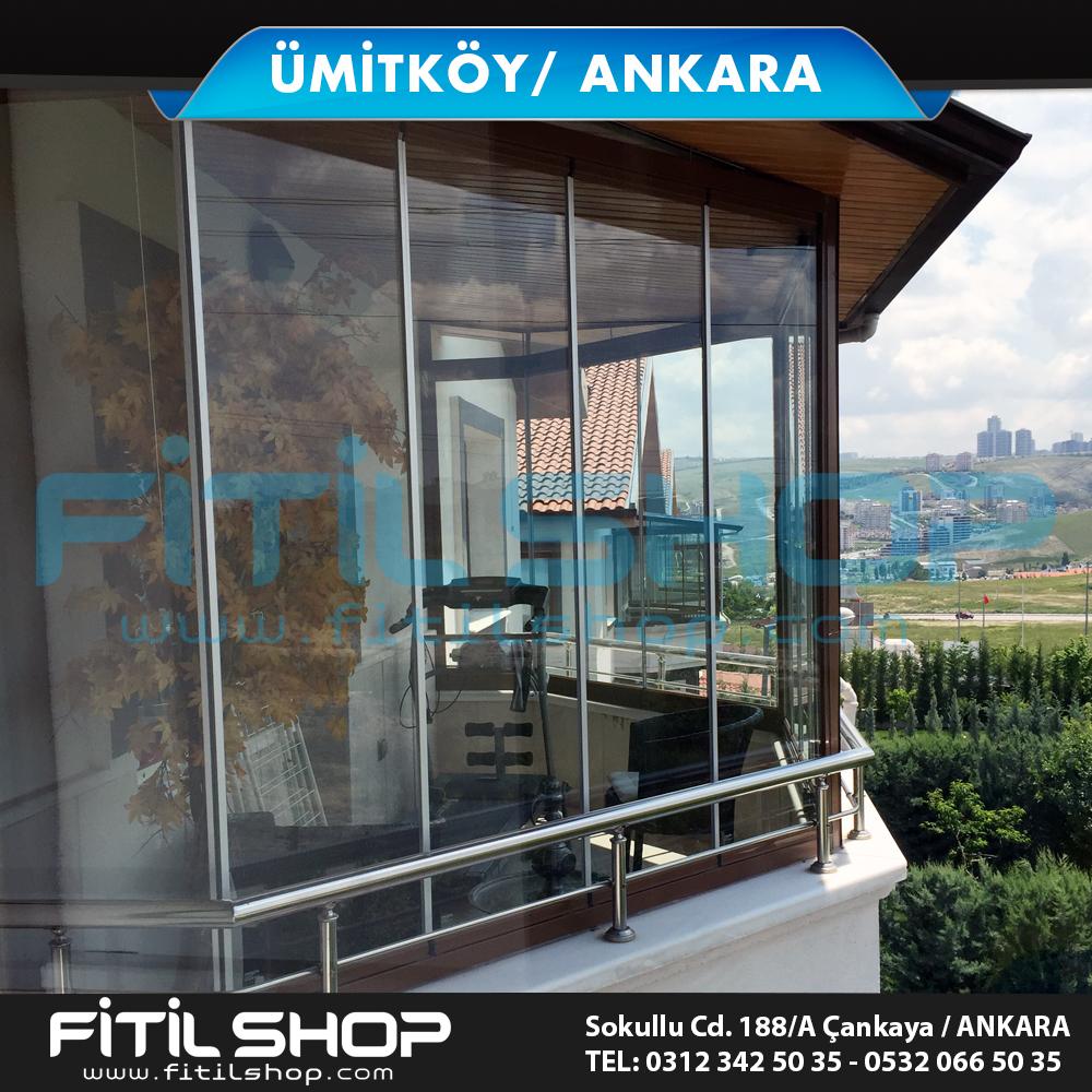 Ümitköy Ankara cam balkon sistemleri