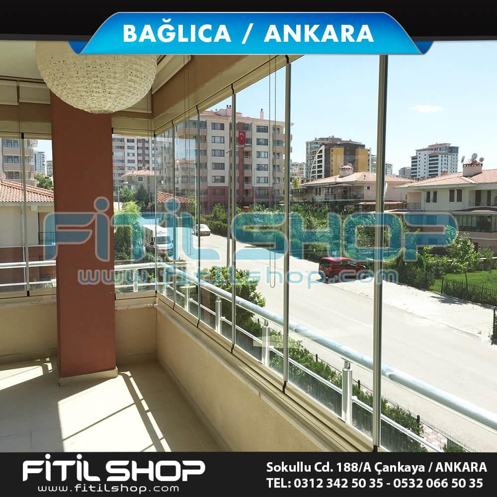 Bağlıca Ankara cam balkon fitil montajı