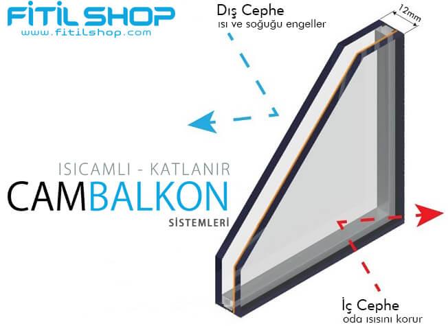Isıcamlı Cam Balkon 8