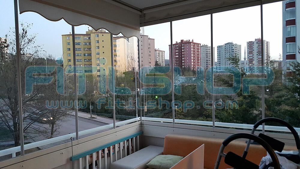 Çiğdem Mahallesi Cam Balkon Fitili Montajımız 2