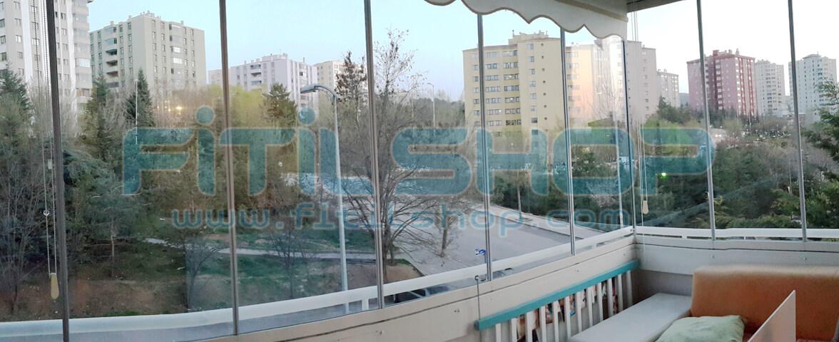 Çiğdem Mahallesi Cam Balkon Fitili Montajımız 1