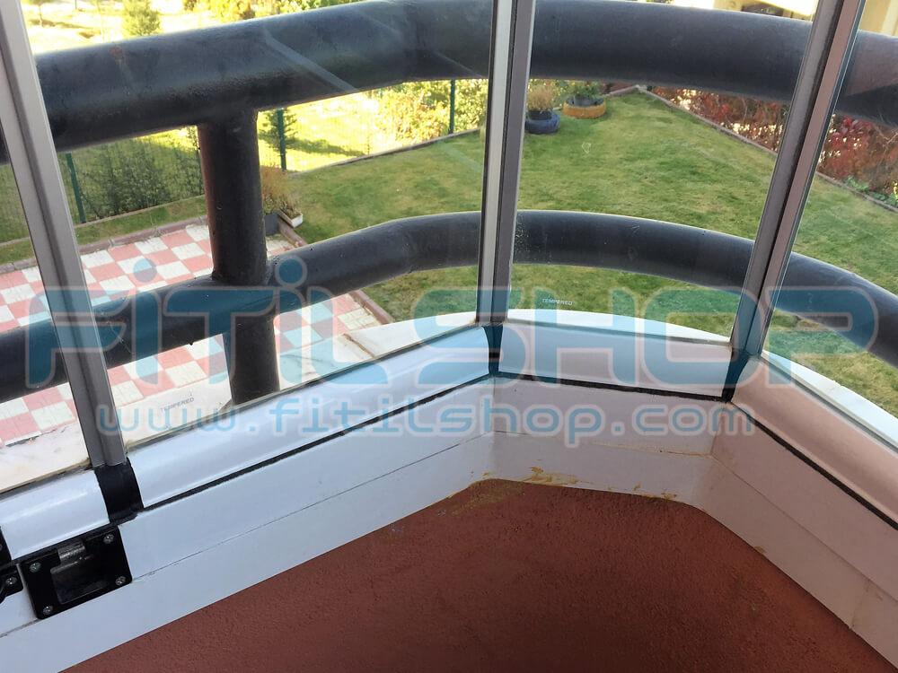 Alüminyum Cam Balkon Fitili Montajı Nasıl Yapılır ? 2