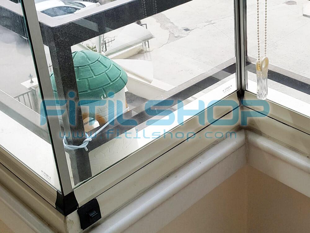 Alüminyum Cam Balkon Fitili Montajı Nasıl Yapılır ? 8