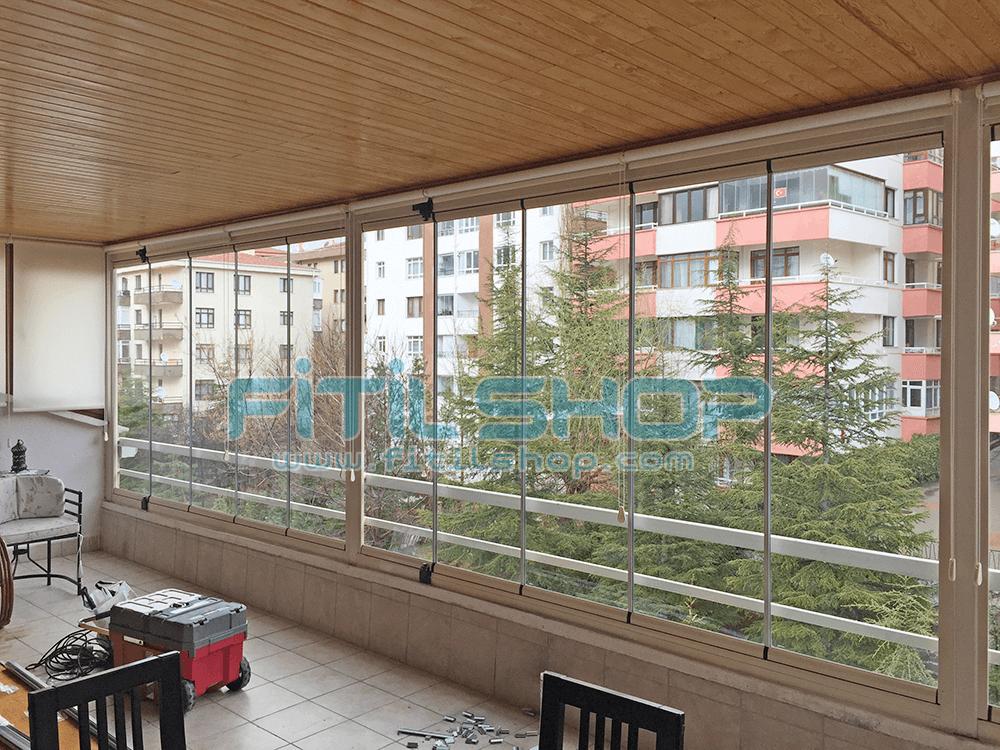 Birlik - Çankaya Teras Cam Balkon Fitili 2