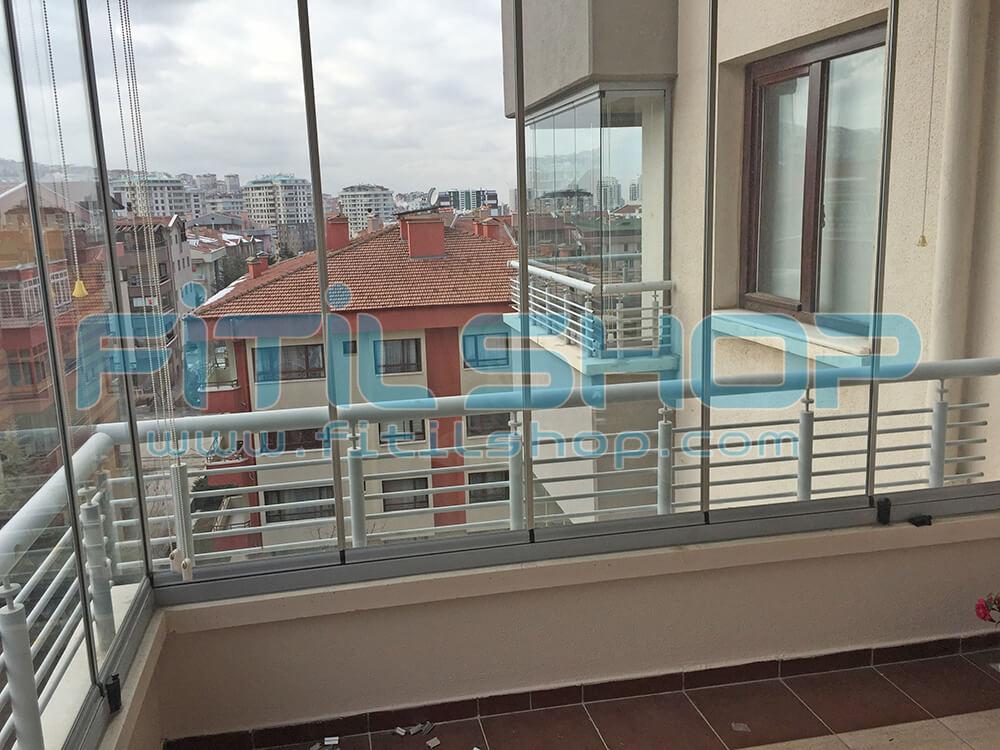 Yıldız - Çankaya Cam Balkon Fitili Montajımız 11