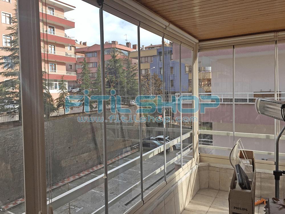 Birlik - Çankaya Teras Cam Balkon Fitili 3