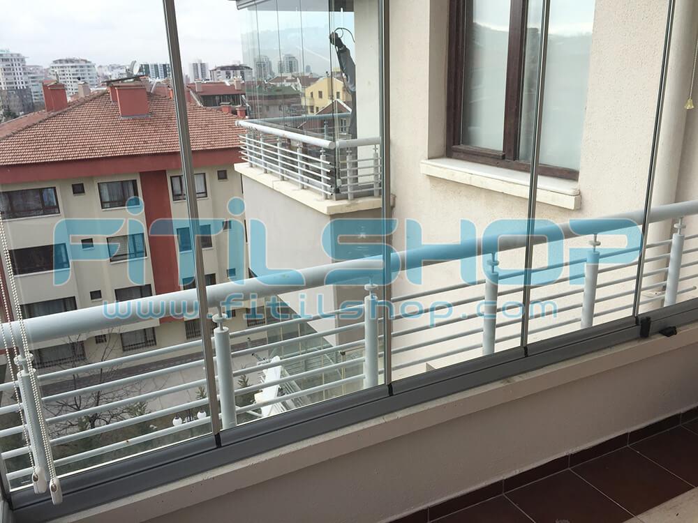 Yıldız - Çankaya Cam Balkon Fitili Montajımız 12