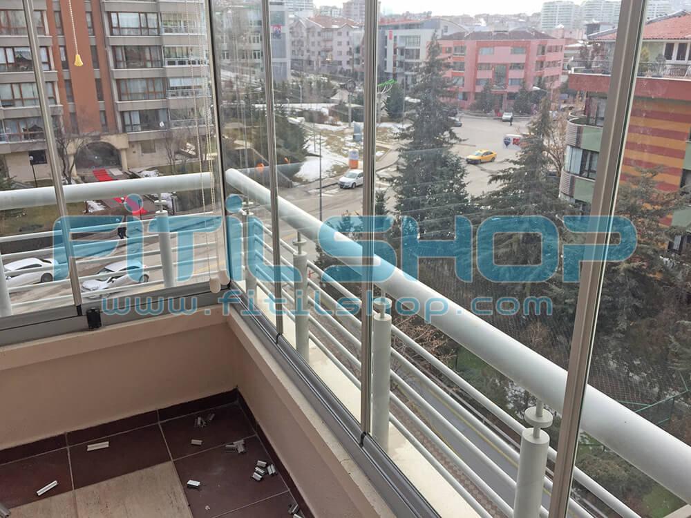 Yıldız - Çankaya Cam Balkon Fitili Montajımız 2