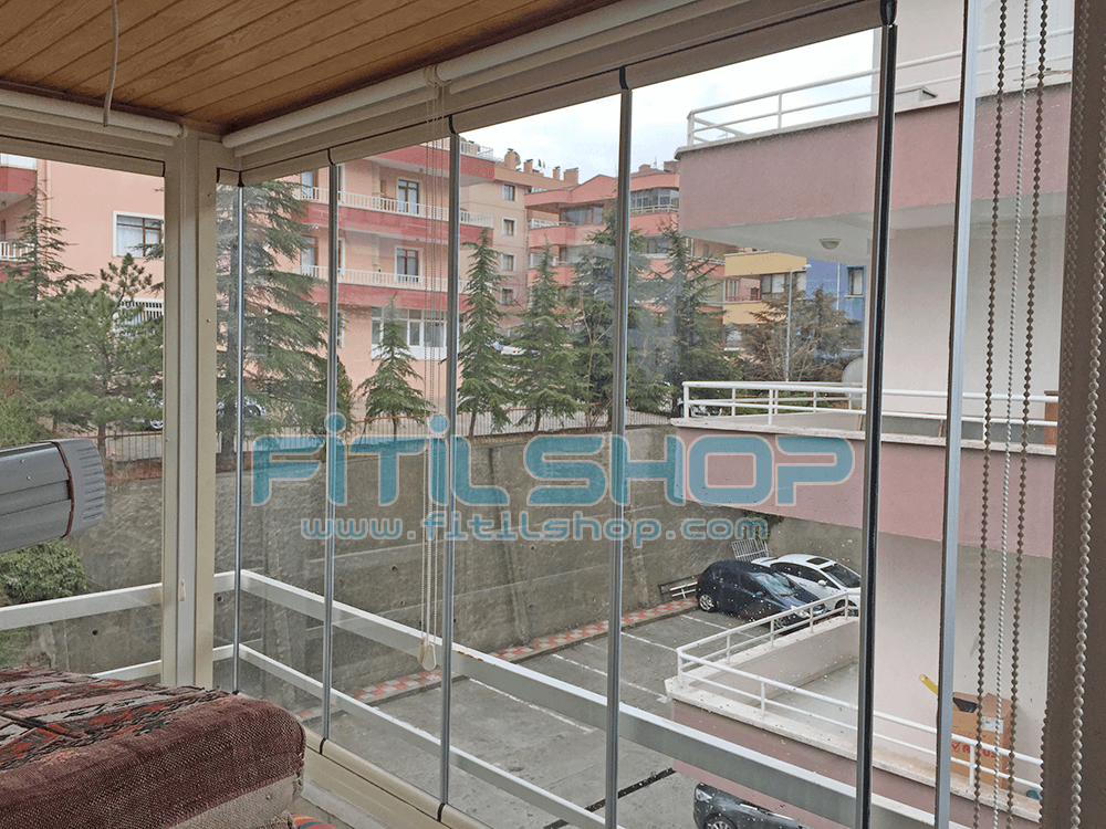 Birlik - Çankaya Teras Cam Balkon Fitili 8