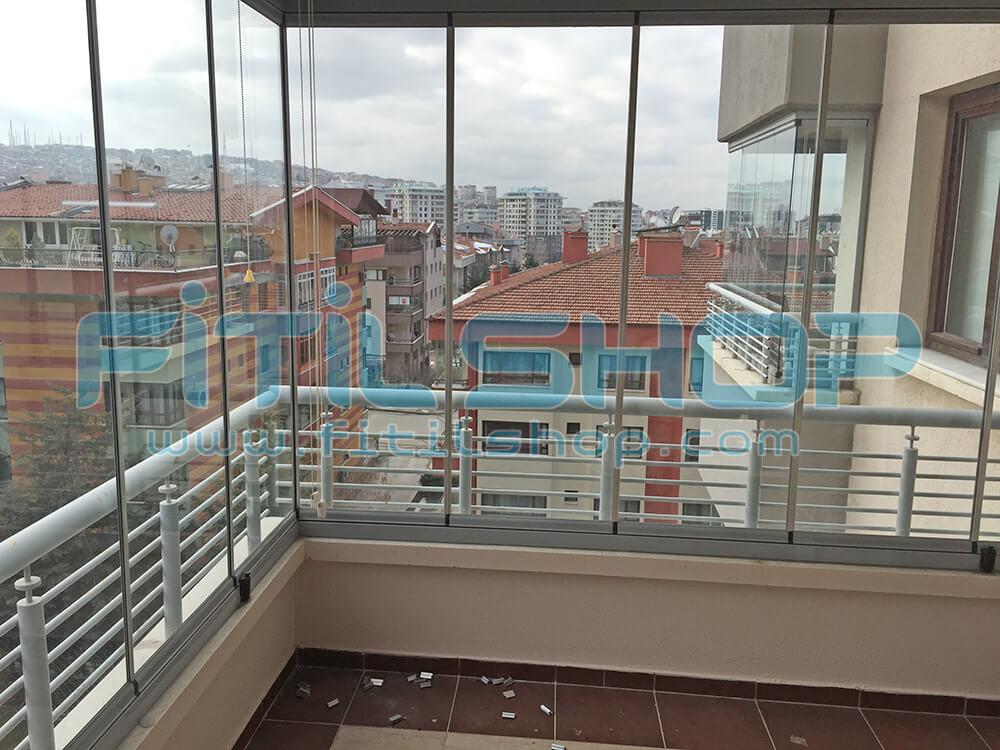 Yıldız - Çankaya Cam Balkon Fitili Montajımız 9