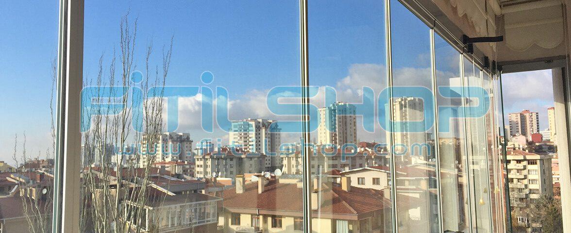 Yıldız - Çankaya Cam Balkon Fitili Montajımız 10